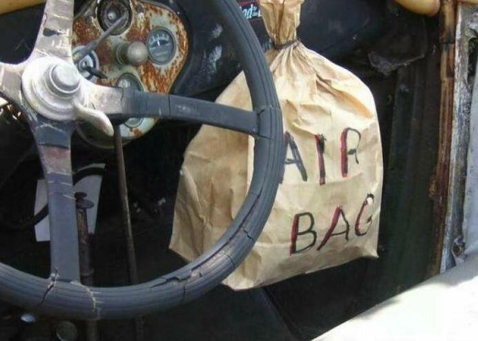 funny airbag picture