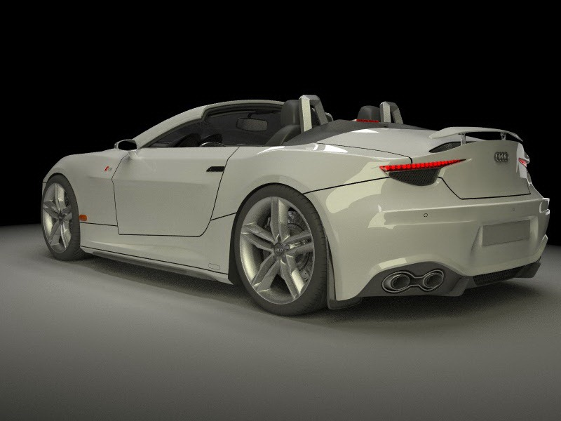A Dressed Up Bmw Z4 Becomes An Awesome Concept Car Audi