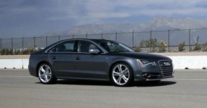 testing an 2013 audi s8 video