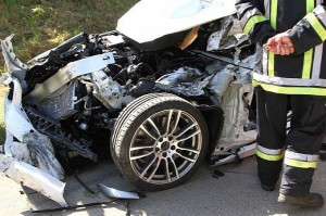test driver died on autobahn