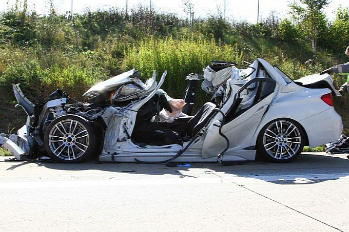 Test Driver Died While Testing A Bmw Prototype At Top