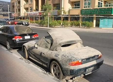 Dubai Cars Are Usually Abandoned Cars Care Of Cars