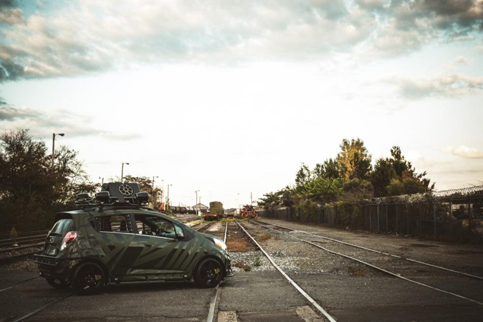 cars ready for zombie wars