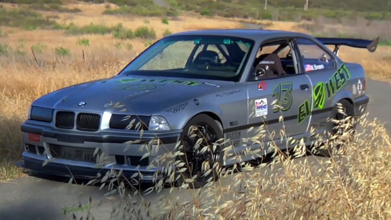 Electric Bmw E36 with massive torque!! The future of race cars, must ...