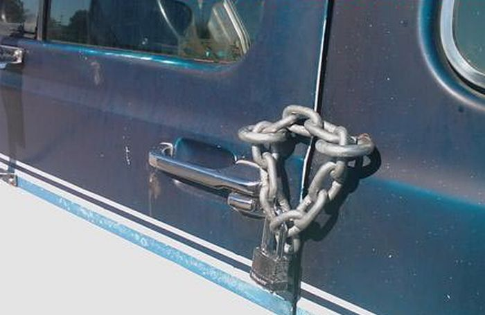 Funniest Photo Gallery With Patchwork Repairs On Cars
